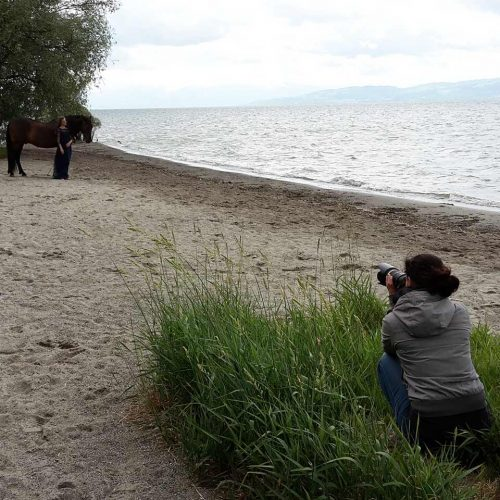 Fotoshooting am Bodensee