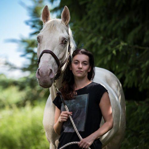 Mein Andalusier Merlin & ich